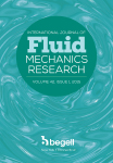 International Journal of Fluids Mechanics Research